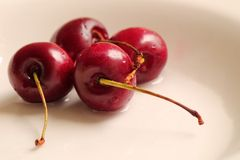 Cherries. Beautiful red cherries Royalty Free Stock Image