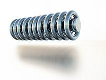 Cilinder en ringen Royalty-vrije Stock Fotografie