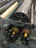 Cilinderpers voor Letterzetseldruk Royalty-vrije Stock Afbeelding