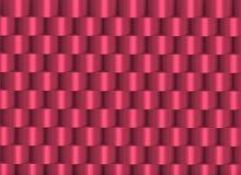 Cilindri impilati colore che formano una struttura Immagine Stock