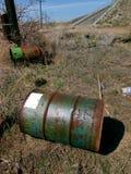 Cilindro abandonado Foto de Stock Royalty Free