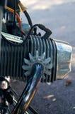 Cilindro d'annata del motociclo Immagine Stock Libera da Diritti