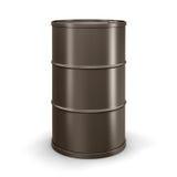 Cilindro de óleo (trajeto de grampeamento incluído) Fotos de Stock Royalty Free