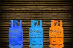 Cilindro de gás Foto de Stock