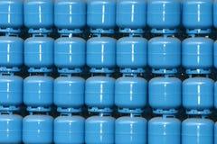 Cilindro de gas Imágenes de archivo libres de regalías