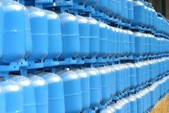 Cilindro de gas Imagen de archivo