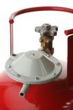 Cilindro de gas Foto de archivo libre de regalías
