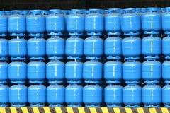 Cilindro de gás Imagem de Stock Royalty Free