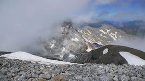 Cilindro de Marbore from Monte Perdido, Pyrenees Royalty Free Stock Photos