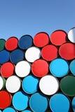 Cilindro de petróleo foto de stock royalty free
