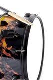 Cilindro de Snare flamejante do incêndio Imagem de Stock