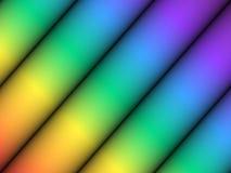 Cilindro del color Imágenes de archivo libres de regalías