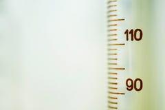 Cilindro di vetro Fotografia Stock Libera da Diritti