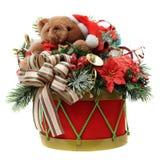 Cilindro do Natal Fotografia de Stock Royalty Free