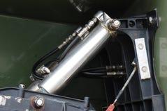 Cilindro hidráulico fotografia de stock royalty free