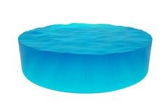 Cilindro isolado da água Foto de Stock