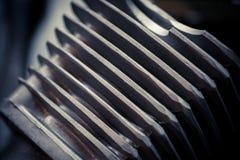 Cilindro raffreddato ad aria del motociclo Fotografie Stock Libere da Diritti