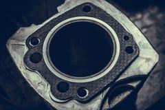 Cilindro raffreddato ad aria del motociclo Immagine Stock