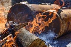 Cilindros étnicos usados no festival religioso Fotografia de Stock Royalty Free