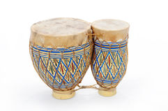Cilindros africanos dos bongos imagem de stock royalty free