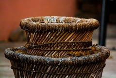 Cilindros da madeira Imagens de Stock