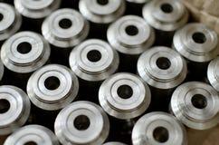 Cilindros de aço Fotografia de Stock