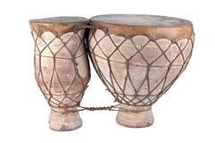 Cilindros de bongos africanos imagem de stock royalty free
