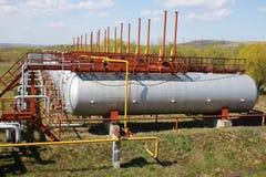 Cilindros de GNL (tanques) Imagem de Stock Royalty Free
