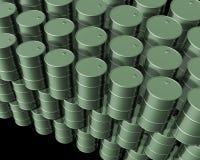 Cilindros de petróleo novos Imagem de Stock