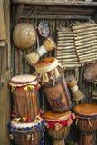 Cilindros dos bongos Imagem de Stock Royalty Free