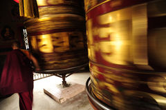 Cilindros gigantes de la oración Imágenes de archivo libres de regalías