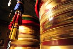 Cilindros gigantes de la oración Foto de archivo