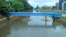 Ciliwung河 库存照片