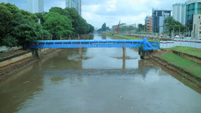 Ciliwung River royalty free stock photo