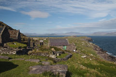 Cill Rialaig artists colony near Ballingskelligs Royalty Free Stock Photos