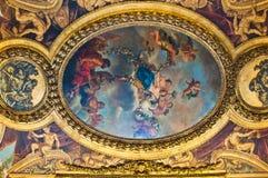Cilling in het kasteel van Versailles Stock Afbeeldingen
