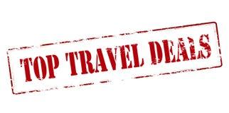 Cima [affari di viaggio Immagini Stock