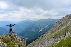 Cima alpina di Daniel fotografie stock