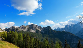 Cima del Cacciatore - Julian Alps Italy Royalty Free Stock Photo