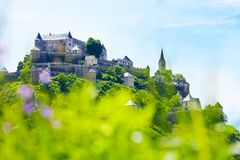 Cima del castello di Hochosterwitz in Austria Fotografie Stock Libere da Diritti