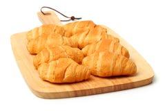 Cima del croissant fotografie stock