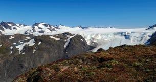 Cima del ghiacciaio Immagine Stock Libera da Diritti