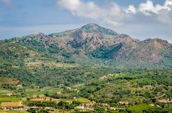 Cima Del Monte, Insel von Elba, Toskana stockbild
