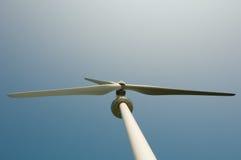Cima del mulino a vento con Copyspace Fotografie Stock