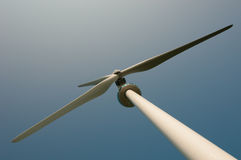 Cima del mulino a vento con Copyspace Immagine Stock