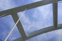 Cima del ponte dell'arco di x Immagini Stock Libere da Diritti