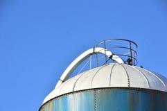 cima del silo Immagine Stock Libera da Diritti