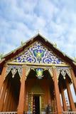 Cima del tempio buddista di luogo pubblico del tetto fotografia stock libera da diritti