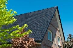 Cima del tetto Fotografie Stock
