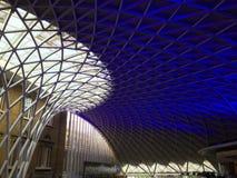 Cima del tetto della stazione ferroviaria internazionale Londra di Piccadilly Fotografie Stock